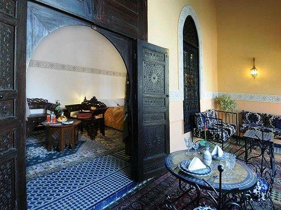 Riad Fes Baraka : Vue de la Chambre