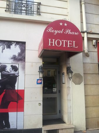 Royal Phare Hotel: Der Hoteleingang