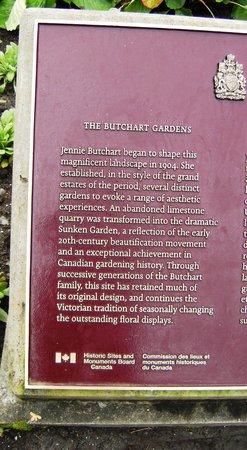 The Butchart Gardens : informaçoes sobre o jardim