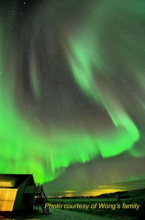 Hella, Iceland: Northern Lights of Nov 9th, 2013 at Hotel Laekur