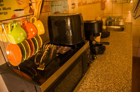 West Side Hostel : The kitchen