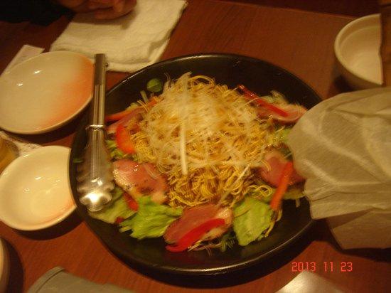 Hana-No-Mai, Keio Retnade Higashifuchu : サラダ