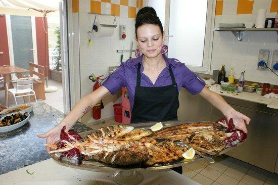 Gorino, Italie: la nostra grigliata di pesce