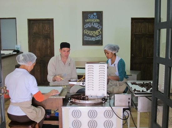 Toucan Rescue Ranch : Sibu Chocolate Factory Tour (Be sure to each lunch, excellent)