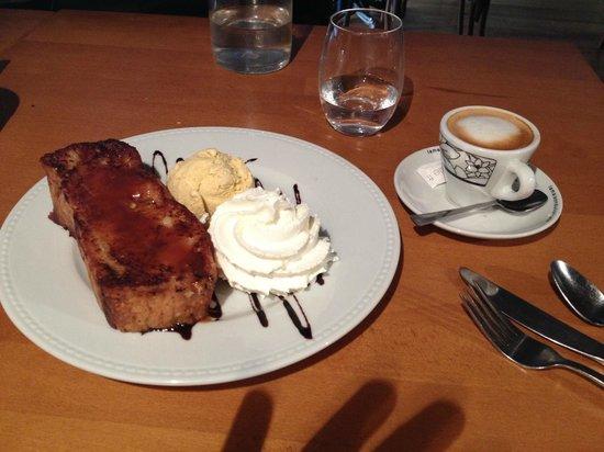 Le Bouchon Provencal : Pain perdu - caramel beurre salé