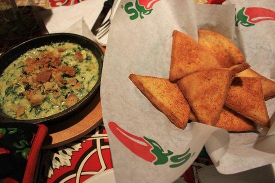 Chili's: Opção vegetariana