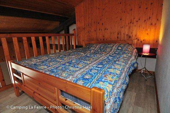 Camping La Ferme : Mezzanine studio 6 personnes