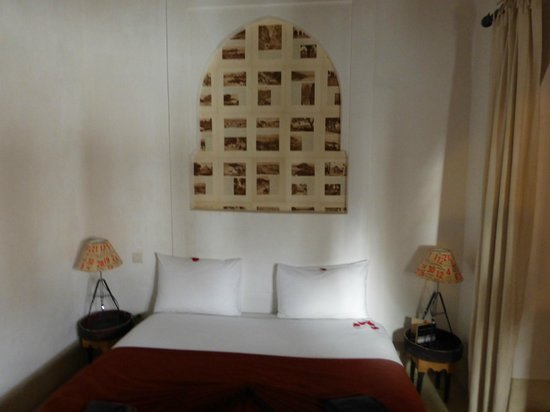 Riad Matham: habitacion
