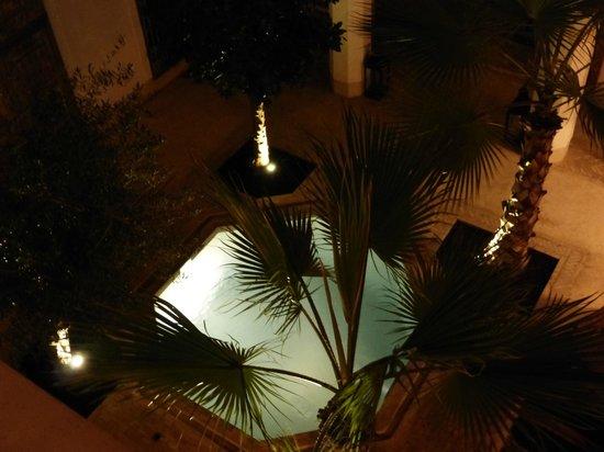 Riad Matham: vistas de habitacin