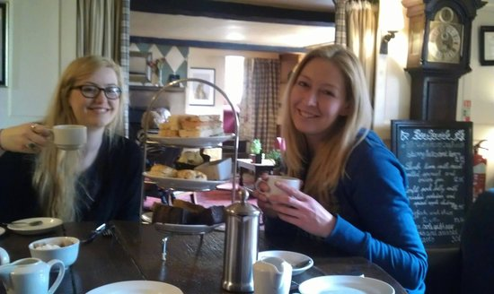 The Lamb Inn: We often bring friends and family for afternoon tea