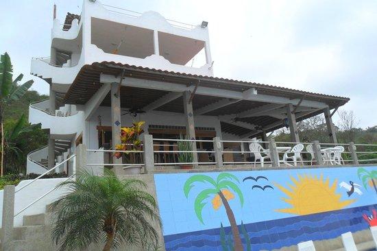 Villa de Los Suenos : View of the Villa from the pool