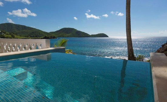 Curtain Bluff Resort: Cliff Suite Plunge Pool