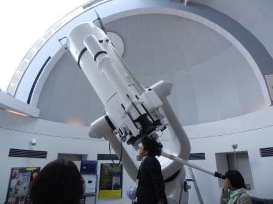 Gunma Astronomical Observatory: 昼間の星の観察