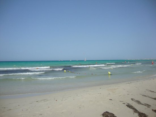 SENTIDO Djerba Beach: Plage de sable