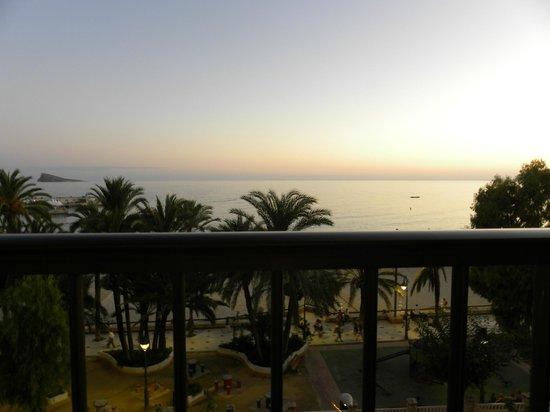 Hotel Montemar: вид с балкона