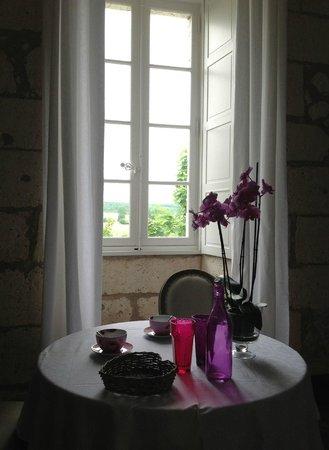 Chateau de Vieux Mareuil: chambre luxe