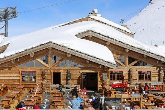 Restaurant Altitude la Toura : la terrasse