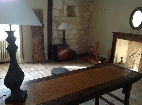 Chateau de Vieux Mareuil: la bibliothèque
