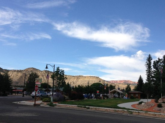 Bybee's Steppingstone Motel: Vista dalla camera