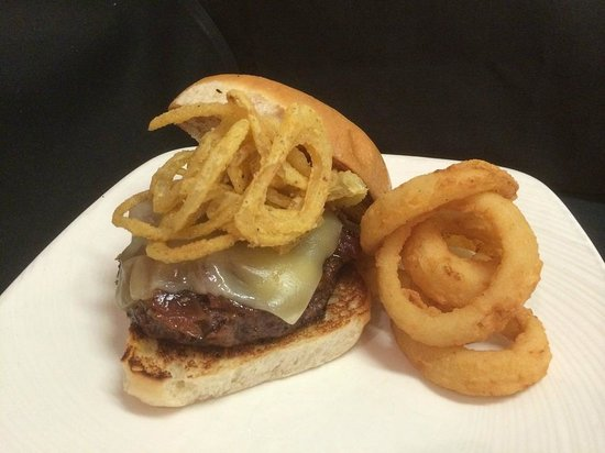 STACKED Grill: French Onion Burger