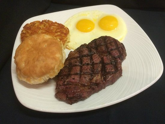 STACKED Grill: Ribeye and Eggs Breakfast