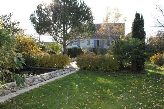 Chambres d'hôtes au pays de Valençay en Berry : le jardin