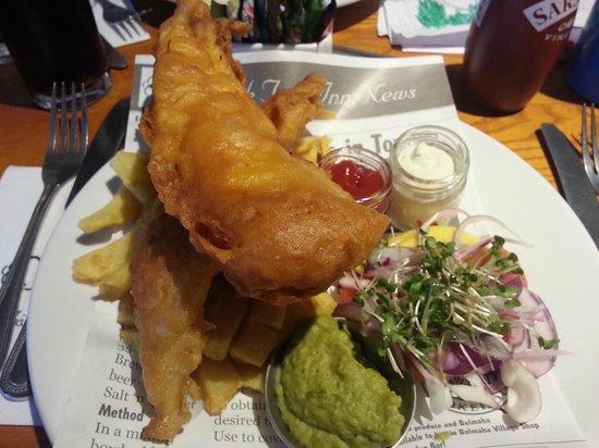 The Oak Tree Inn: Fish&Chips grub
