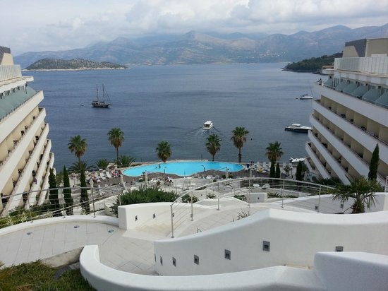 Lafodia Hotel & Resort: View from top of the hotel.