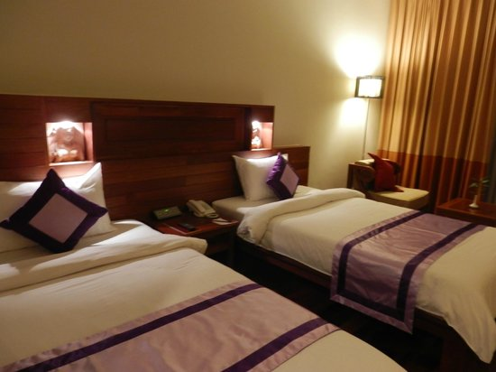 Angkor Miracle Resort & Spa: 2 Queen Beds