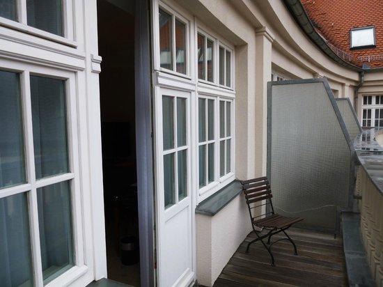 Hotel Fürstenhof, a Luxury Collection Hotel, Leipzig: Balkon