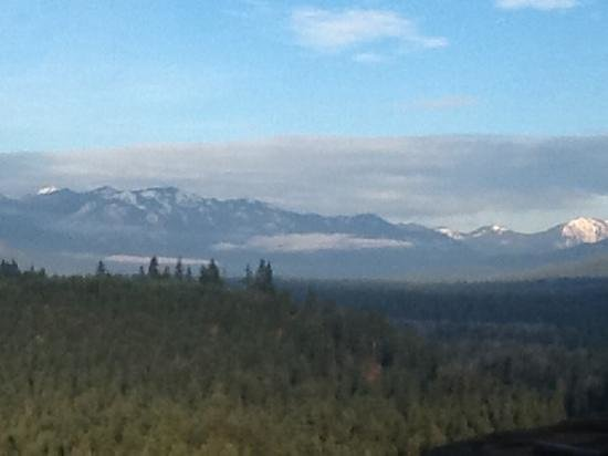Suncadia Resort: view from the lodge