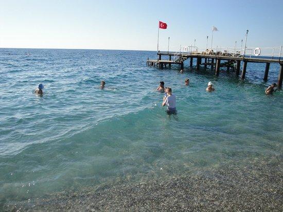 Akka Claros Hotel : Пляж