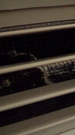 Holiday Inn Express & Suites Shreveport: ac/heater vent