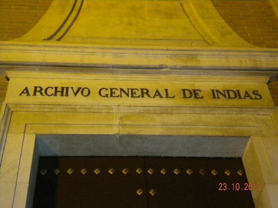 Archivo General de Indias: Entrata