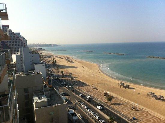 Orchid Tel Aviv : Camera matrimoniale superior vista mare