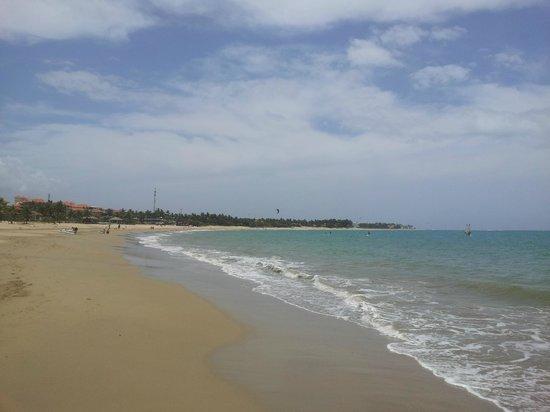 Hotel Villa Taina: Strand von Cabarete