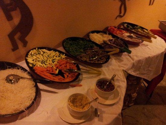 Hotel Villa Taina : Mongolian Grill! Wie ich es vermisse...