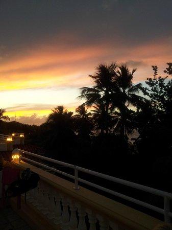 Hotel Villa Taina: Aussicht von der Suite / Penthouse