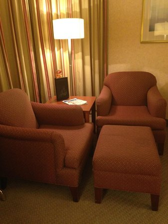 Delta St. John's Hotel and Conference Centre: Sitting Area in the Room