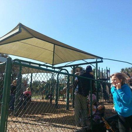 Sanibel Community Playground : Sanibel Blue Sunshine!