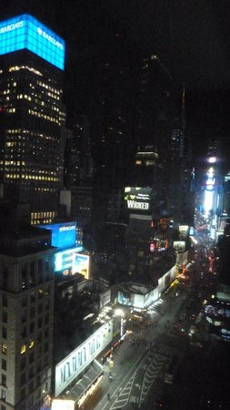 Novotel New York Times Square : View / Times Square