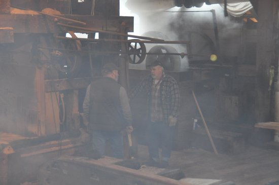 McLean Mill National Historic Site: Sawyers at Work