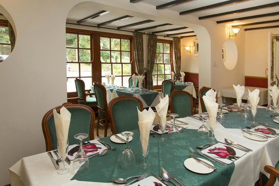 The Rosemundy House Hotel: Rosewoods Restaurant