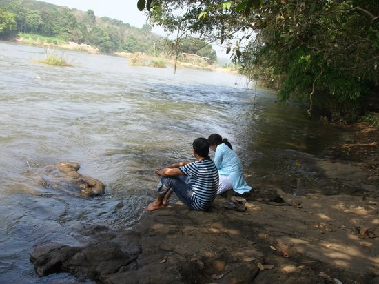 Ernakulam, India: Folklores says that the natural dam located at the interior forest is a creation of demons