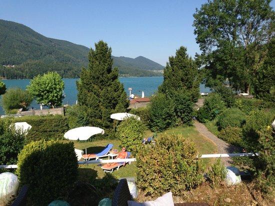 Hotel Ebner's Waldhof am See: Ausicht auf den schönen Fuschlsee
