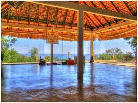 Hridaya Yoga: Viveka, one of our 3 spacious yoga halls