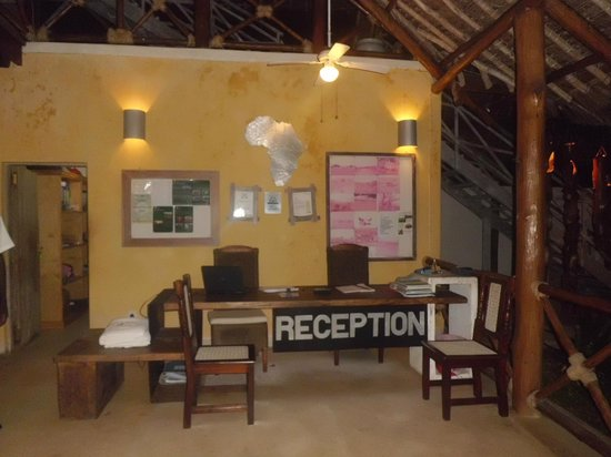 Mawe Resort: reception