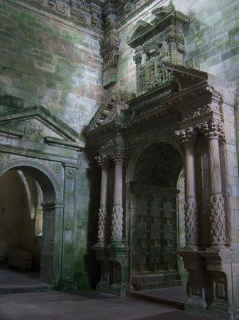 Monasterio Cisterciense de Santa María de Sobrado: Interior of the Monastery
