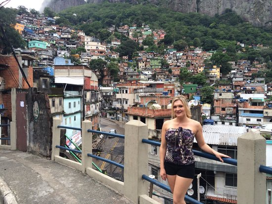 Favela Tour : Great view over the Favela Rocinha.
