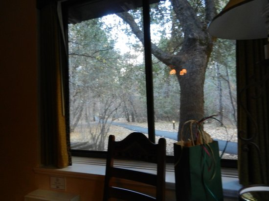 The Ahwahnee : View from a classic cabin
